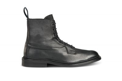 Burford Plain Derby Boot - Olivvia Deerskin
