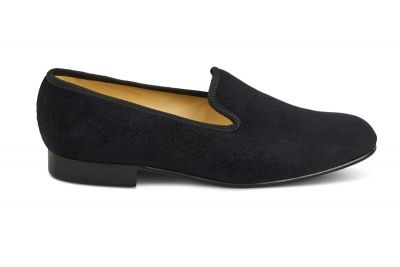 Churchill Velvet Slipper