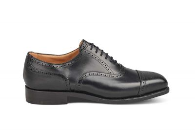 Kensington Semi Brogue Toecap Oxford Town Shoe