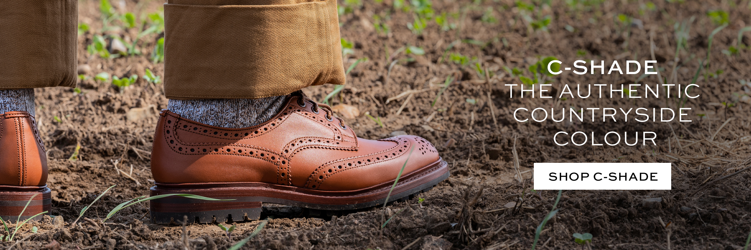 C-shade Stow Country Shoe
