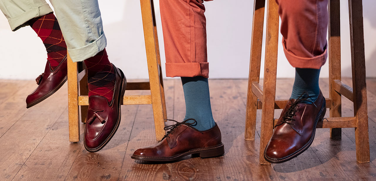 SS19 Museum Calf Leather Men's Shoes for Warmer Weather