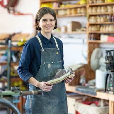 Adele Williamson - Apprentice Bespoke Shoemaker