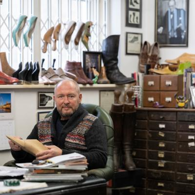 Michael James - Partner of Spring Line: Shoe Last Maker