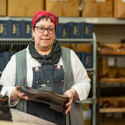 Sharon Morris - Supervisor for Shoe and Closing Rooms
