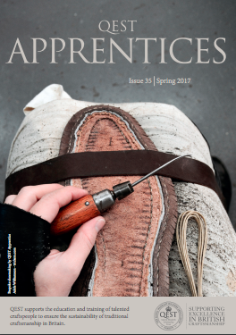 Let us introduce you to our first female bespoke apprentice