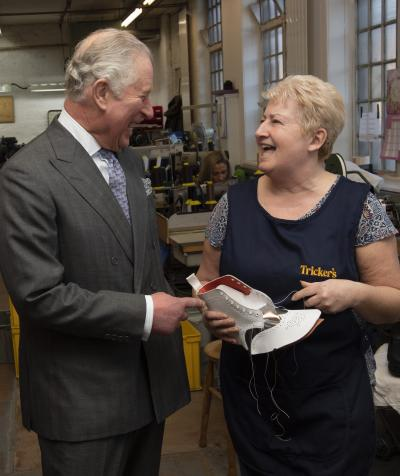 HRH The Prince of Wales visits Tricker's