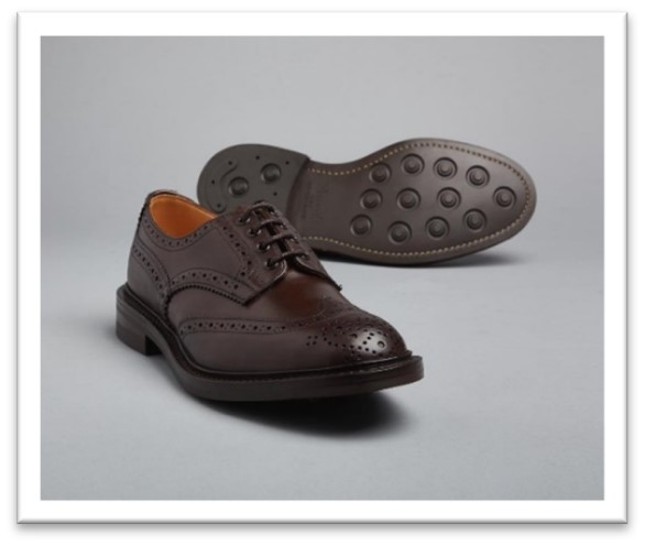 Bourton brogue with Dainite sole