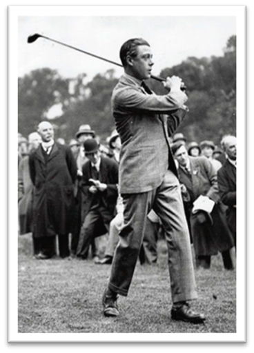 Duke of Windsor golfing in brogues