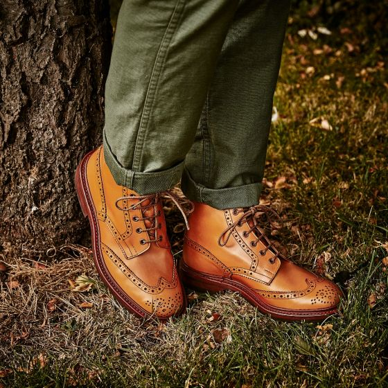 Tricker's Stow Boot in Acorn Leather