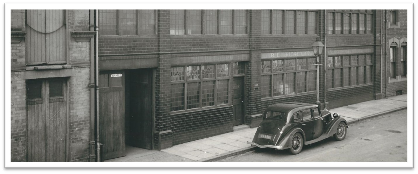 Tricker's Factory in Northampton